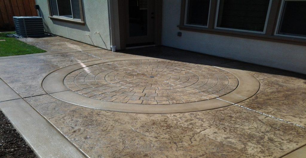 Stamped Concrete Driveway Contractor Poway, Decorative Concrete Poway