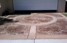 Stamped Driveway Concrete Contractor Poway, Decorative Concrete Company Poway Ca