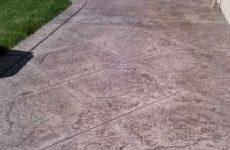 Stamped Concrete Patio Poway